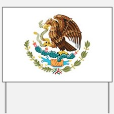 Mexico Coat of Arms Yard Sign