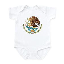 Mexico Coat of Arms Infant Bodysuit