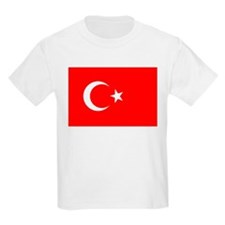 Turkey Flag Kids T-Shirt