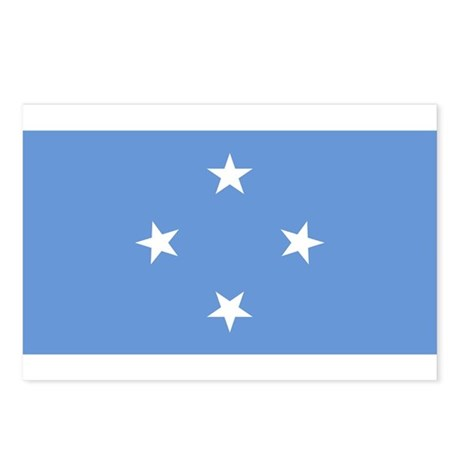 micronesia Flag Postcards (Package of 8)