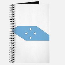 micronesia Flag Map Journal