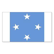 Micronesian Rectangle Decal