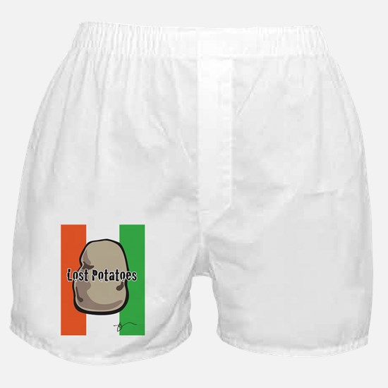 Lost Potatoes Boxer Shorts
