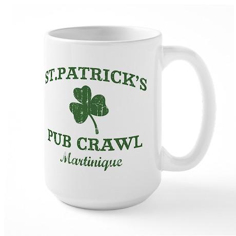 Martinique pub crawl Large Mug