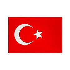 Turkey Flag Rectangle Magnet