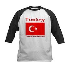 Turkey Flag Turkiye Cumhuiyet Tee