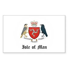 Isles Coat of Arms Seal Rectangle Decal