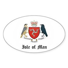 Isles Coat of Arms Seal Oval Decal