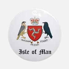 Isles Coat of Arms Seal Ornament (Round)