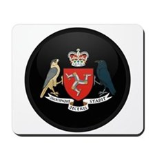 Coat of Arms of Isle of Man Mousepad