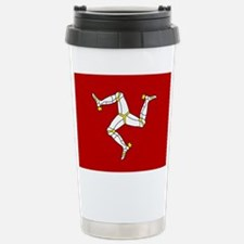 Isle of Man Flag Stainless Steel Travel Mug