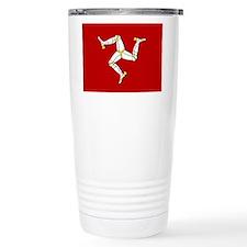 Isle of Man Flag Travel Mug