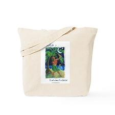 Hula Lifestyle - Under a Hawaiian Moon Tote Bag