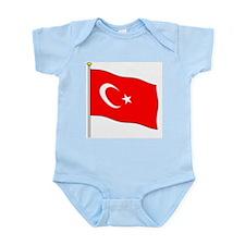 Turkey Flagpole Infant Creeper