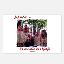 Hula Lifestyle - Four Graces Postcards (Package of