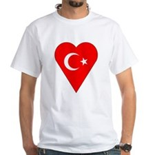 Turkey Heart-Shaped Flag Shirt