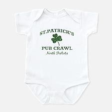 North Dakota pub crawl Infant Bodysuit