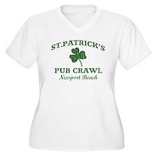Newport Beach pub crawl T-Shirt