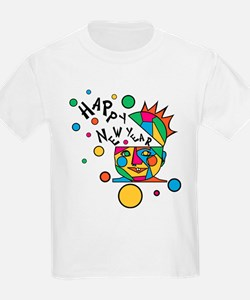Happy New Year Kids T-Shirt