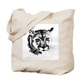 Cougar Canvas Tote Bag