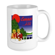 Cannes Couple Mug