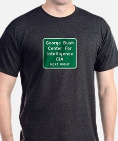 George Bush Center For Intelligence, Virginia T-Shirt