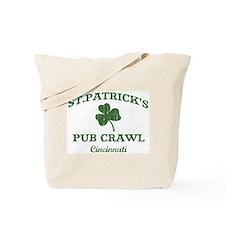 Cincinnati pub crawl Tote Bag