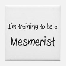 I'm training to be a Mesmerist Tile Coaster