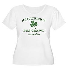 Costa Rica pub crawl T-Shirt