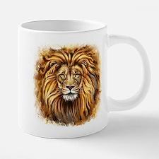 Artistic Lion Face 20 oz Ceramic Mega Mug