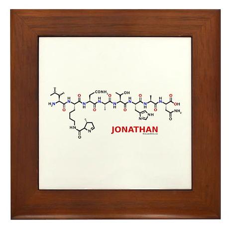 Jonathan molecularshirts.com Framed Tile