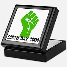 Earth Day green power Keepsake Box