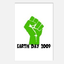 Earth Day green power Postcards (Package of 8)
