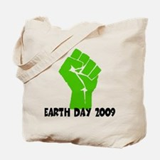 Earth Day green power Tote Bag