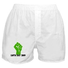 Earth Day green power Boxer Shorts