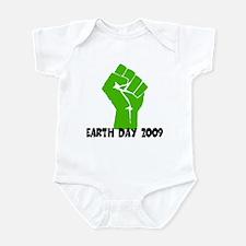 Earth Day green power Infant Bodysuit