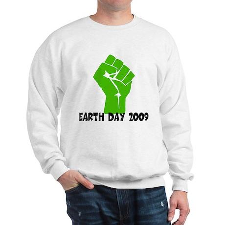 Earth Day green power Sweatshirt
