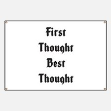 Best Thought Banner