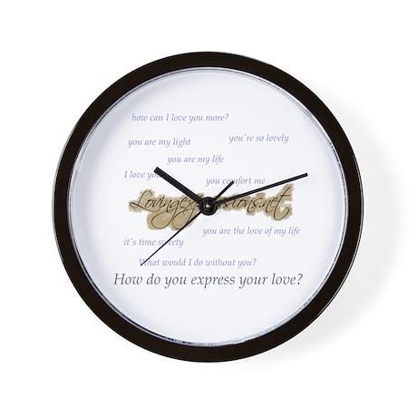 Expressions Wall Clock