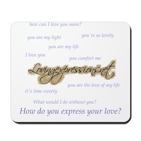 Expressions Mousepad