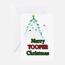 Merry Yooper Christmas Greeting Cards (10 Pk)