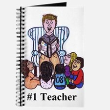 Male Elementary School Teacher Journal