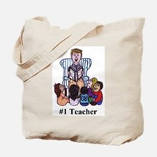 Male Elementary School Teacher Tote Bag