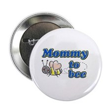 "Mommy to bee 2.25"" Button (100 pack)"