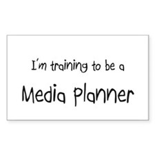 I'm training to be a Media Planner Decal