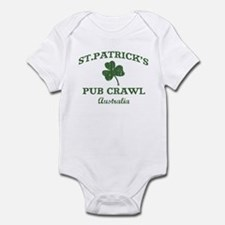 Australia pub crawl Infant Bodysuit