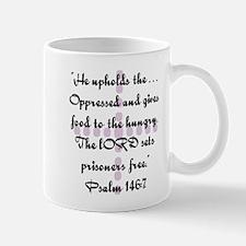 Ps146 : v 7 Jesus Mug
