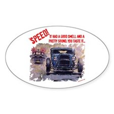 Speed! Oval Decal