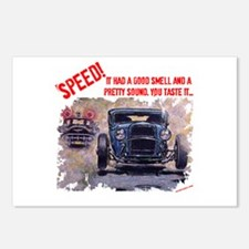 Speed! Postcards (Package of 8)