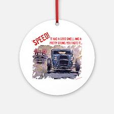 Speed! Ornament (Round)